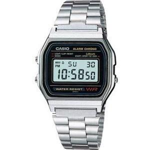 Reloj Casio unisex color plateado. REBAJAS!!$35.00