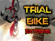 Trial Bike Extreme is a fantastic 3D dirt bike game where you have to complete the levels without dying. Checkpoints have been added to these 20 new and improved levels just awaiting for you to show off your skills. 20 levels of extreme action and height will leave you wanting more trial bike games in an instant, avoid obstacles and land your jumps just right or risk falling off your 3D Dirt Bike and embarrassing yourself.