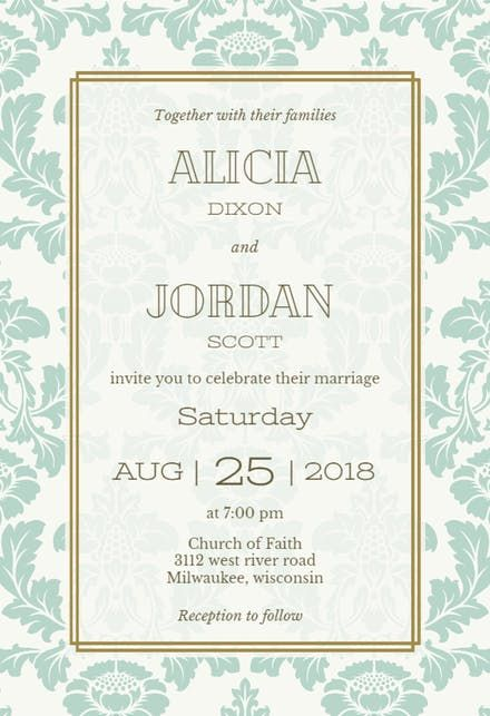 Best 25+ Free wedding invitation templates ideas on Pinterest - get together invitation template