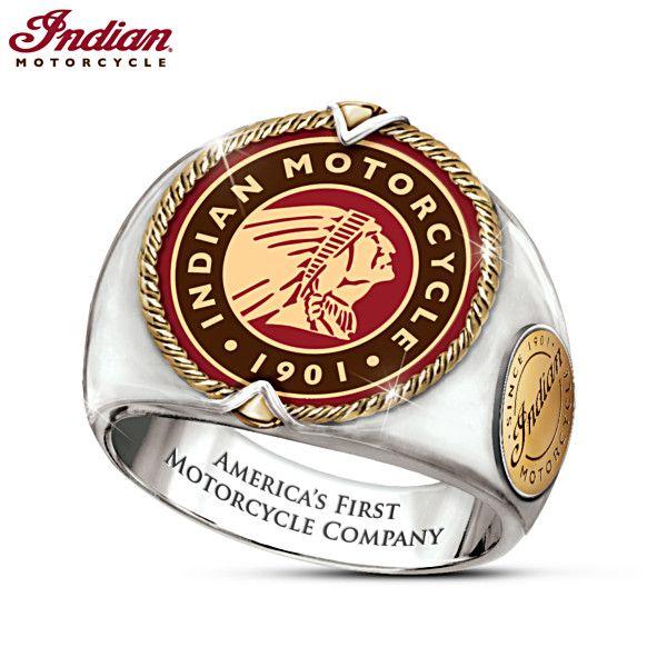 Indian Motorcycle Legacy Ring