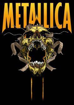 Metallica on Pinterest | James Hetfield, Metallica Art and Poster