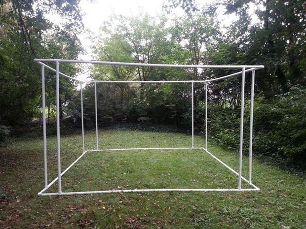 17 best ideas about pvc pipe tent on pinterest pvc fort pvc tent and pvc playhouse