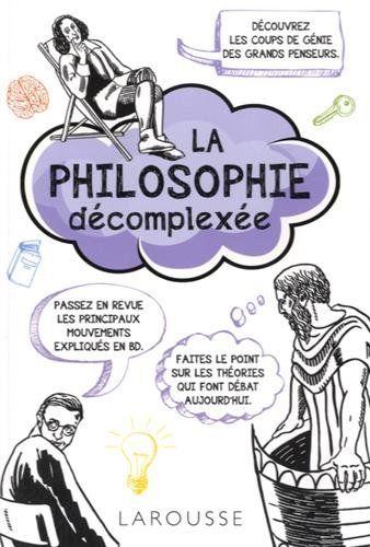 Un panorama en images des grands courants et thèmes de la philosophie occidentale, d'Héraclite à Jacques Derrida : la nature de la réalité, la caverne de Platon, la question de l'existence de Dieu, le matérialisme, etc.