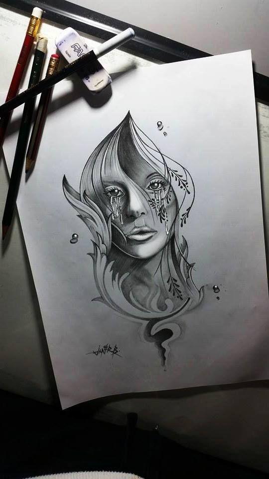 tattoo girl style