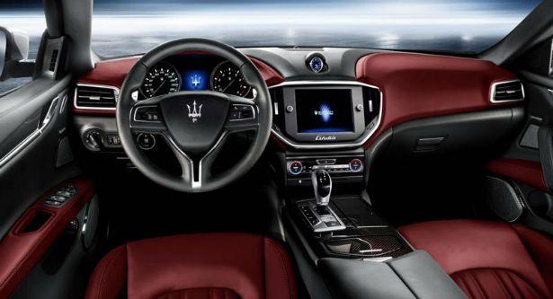 2016 Maserati Ghibli Interior