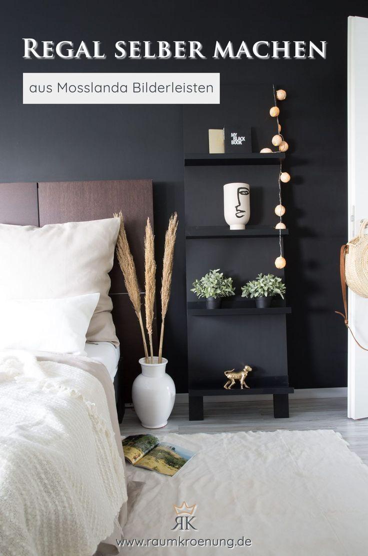 Ikea Hack Regal Günstig Selber Bauen Aus Mosslanda Bilderleisten Raumkrönung Einrichtungstipps Wohnblog Einrichtungstipps Regal Selber Machen Billige Regale