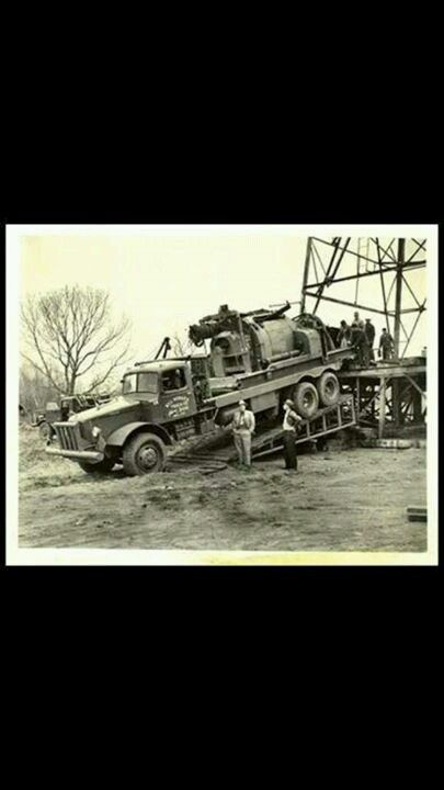 Old Oilfield Truck Old Trucks Pinterest Trucks