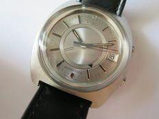 Omega Memomatic, orologio da polso con sveglia, da uomo, circa 1972