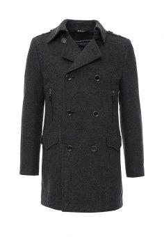 Пальто Berkytt, цвет: серый. Артикул: BE068EMLGI29. Мужская одежда / Верхняя одежда / Пальто
