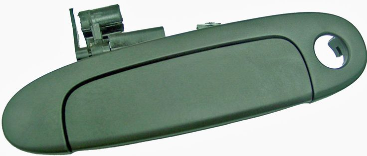 Toyota Echo 00- 05 Outside Door Handle Front RH USA Passenger Side (Smooth Black)