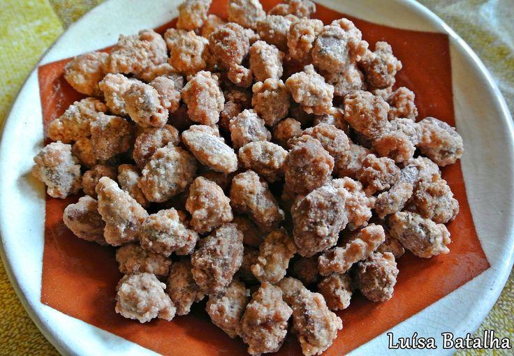 amendoas caramelizadas