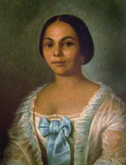 A Cane River Creole of Louisiana lady, Marie Therese Carmelite Anty Metoyer.Granddaughter of Marie Therese CoinCoin