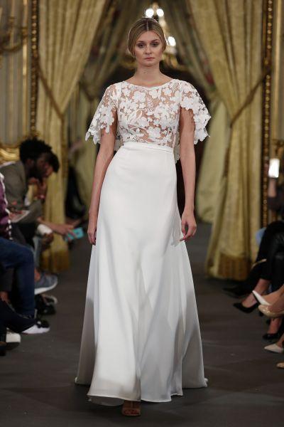 Vestidos de novia cuello redondo 2017: Un diseño que no pasa de moda Image: 28