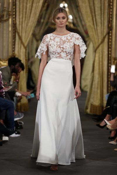 Vestidos de novia para mujeres con poco pecho 2017: ¡45 diseños que te enamorarán! Image: 39