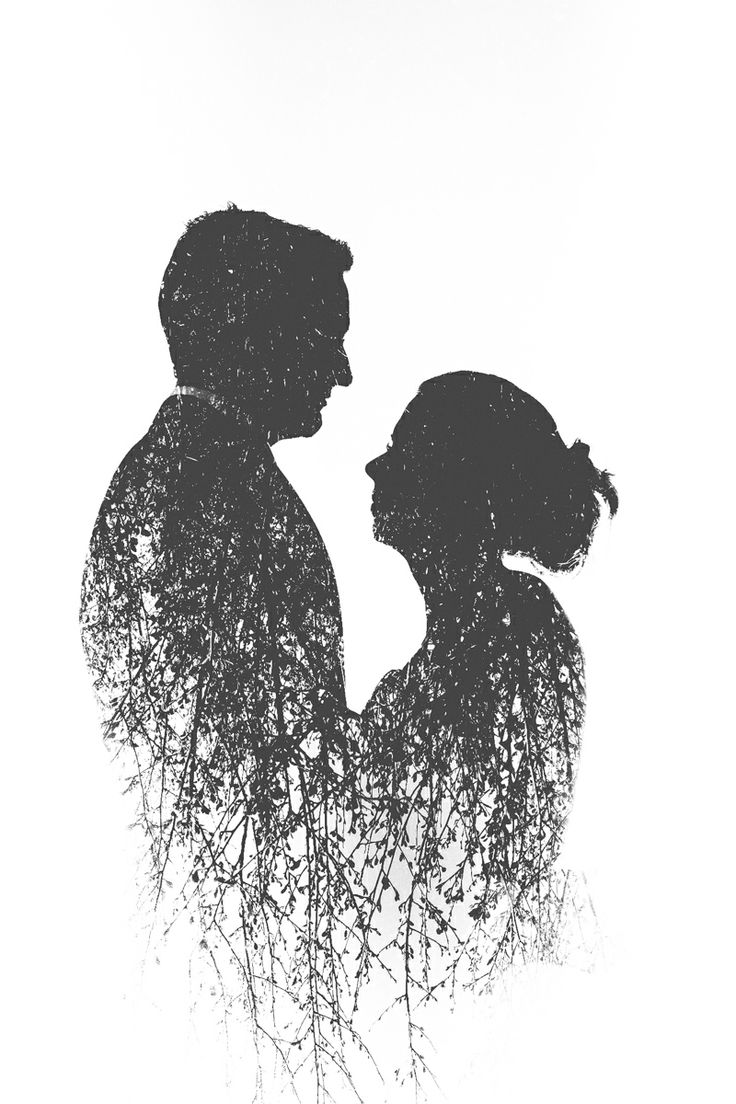 Double Exposure Wedding