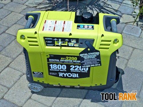 Ryobi 2200-Watt Gasoline Digital Inverter Generator Review