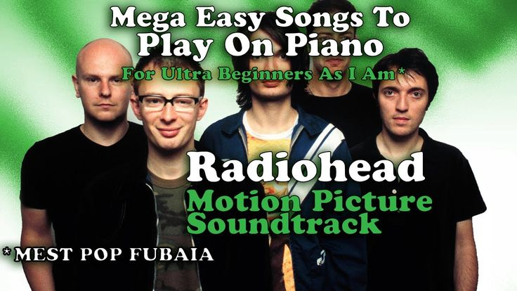 #Radiohead - #MotionPictureSoundtrack (#Easy #Chords For #Piano - #Tutorial #karaoke #singalong)