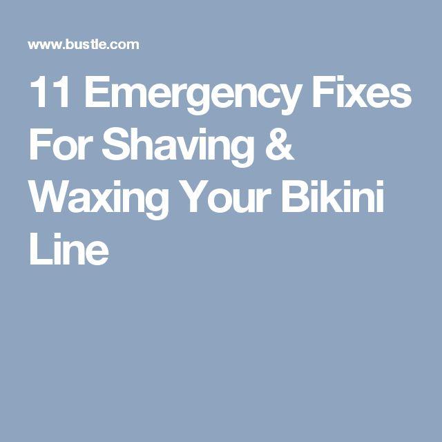 11 Emergency Fixes For Shaving & Waxing Your Bikini Line