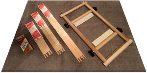 Using Stretcher Bars, Frames & Stands for Stitching Needlepoint: Stretcher Bars and Roller Frame