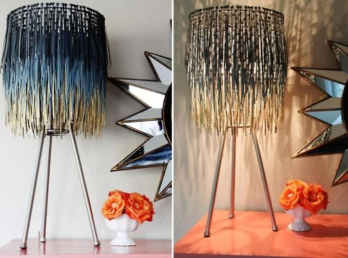 17 best painted lamp shades images on pinterest lamp shades ziptie lampshade and wire mesh backing a little glass box when in doubt make a lamp shade out of it greentooth Images
