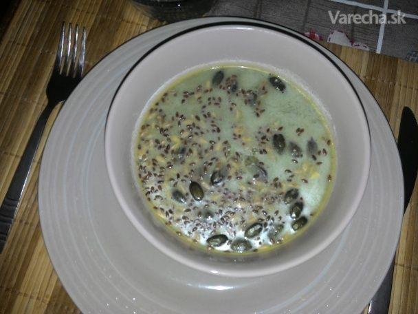 Polievka z medvedieho cesnaku - Recept