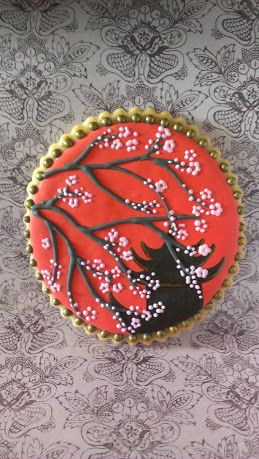 Asian Inspired Cookies On Pinterest Kimonos New Years And Oriental