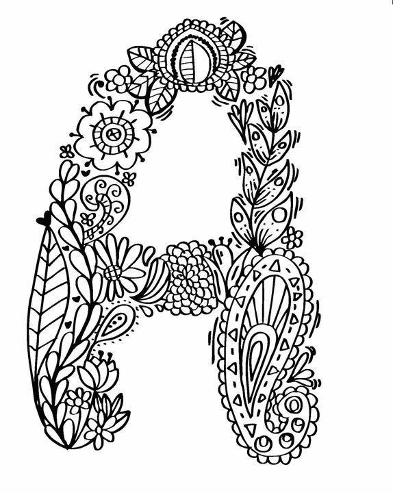 """This is a hand drawn alphabet """"A-Z """" by Pumpa. All this illustration is doodle art style. This one you can make colouring on it and make it decoration  or you also can gift friend or family. its gonna be your diy gift.  This illustration i drawing by pen or marker . your kids will like it. thank you fro intre"""