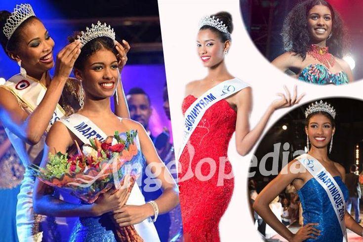 Aurelie Joachim crowned as Miss Martinique 2016 for Miss France 2017