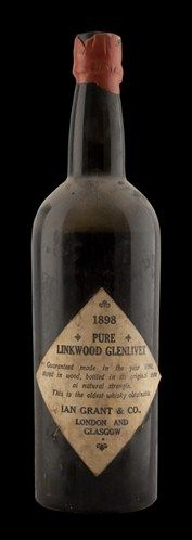 Linkwood-Glenlivet Whisky Vintage 1898
