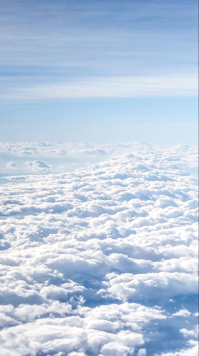 Fon Storis Oblaka Blue Sky Wallpaper Blue Sky Clouds Sky Aesthetic