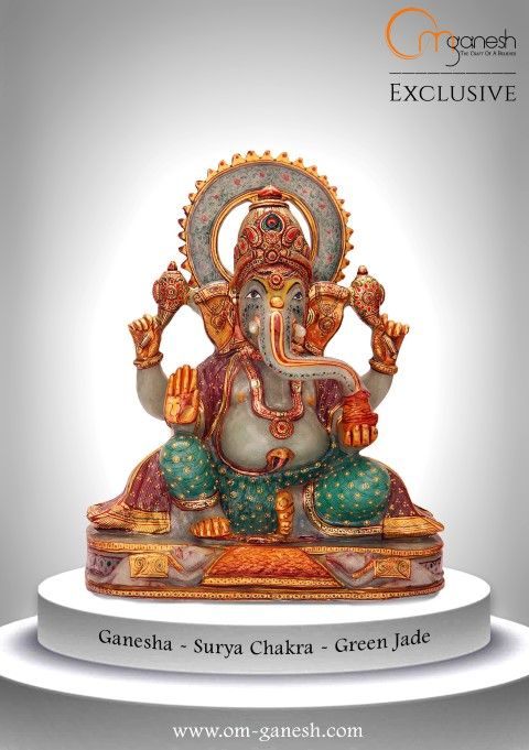 Beloved Ganesha is the bringer of good luck, take him home and watch the magic unfold.#Beloved #Ganesha #Bringer #Good #Luck #Take #Home #Watch #Magic #OmGaneshCrafts