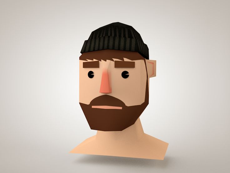 Image result for low poly face