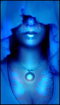 Blue Alien by *ValentinaKallias on deviantART