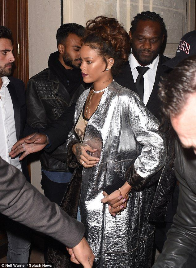 Rihanna was seen out in Paris on Thursday night attending the same venue, Seven nightclub, as rumoured new beau Travis Scott