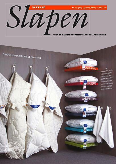 Cover Vakblad Slapen editie januari 2014
