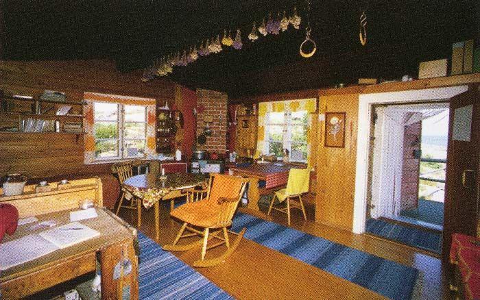 tove jansson's cottage