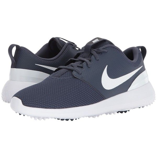 baa2ef1454e Nike Golf Roshe G (Thunder Blue White) Men s Golf Shoes ( 80) ❤ liked on  Polyvore featuring men s fashion
