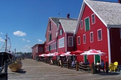 Old fish factory restaurant, Lunenburg, Nova Scotia