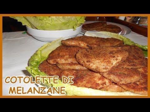 Cotolette di melanzane ripiene con formaggio e basilico - Le Ricette di Zio Roberto - YouTube
