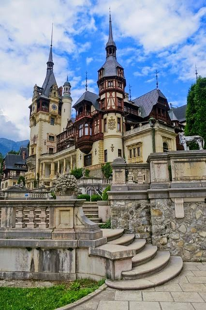 The jewel of the Carpathians, Peleş Castle, Romania