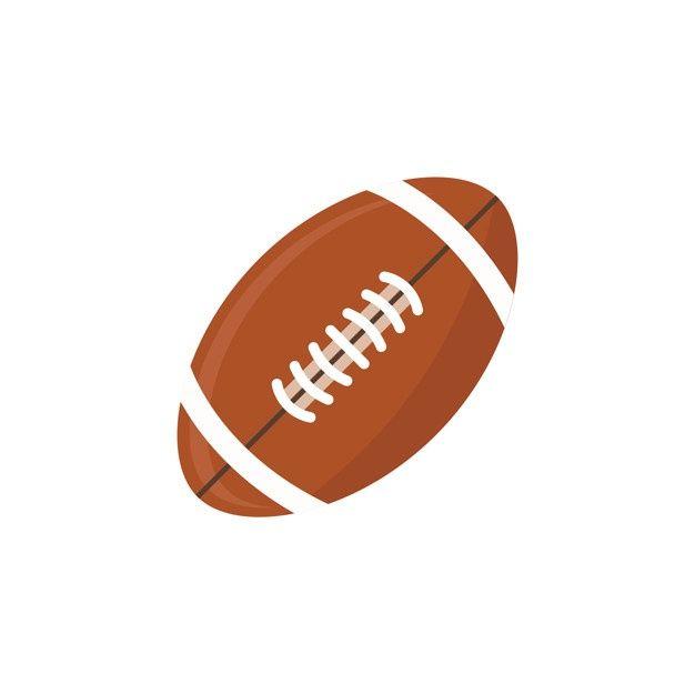 American Football Vector Png American Football Football Black And White Football