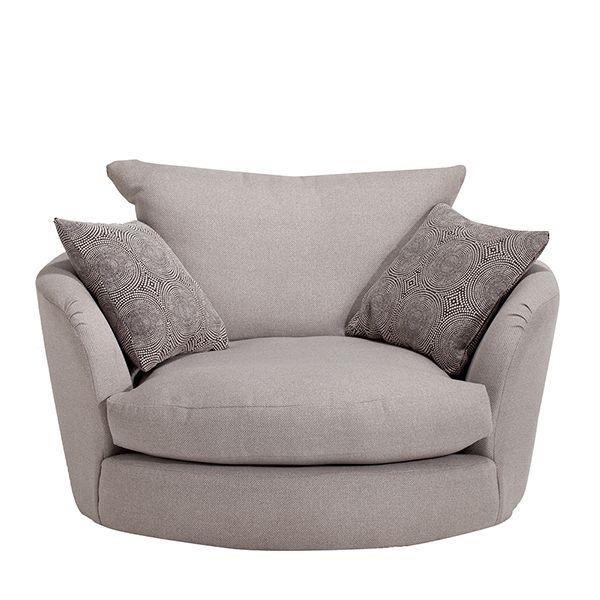 Floyd - Swivel Cuddler   Corner Sofas   Living Room