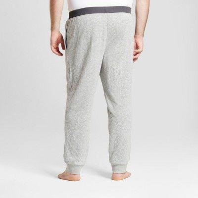 Men's Big & Tall Jogger Pajama Pants - Goodfellow & Co Heather Gray 3XBT