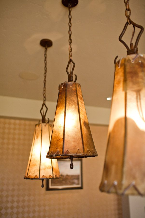 Rawhide Pendant Lighting In 2019 Rustic
