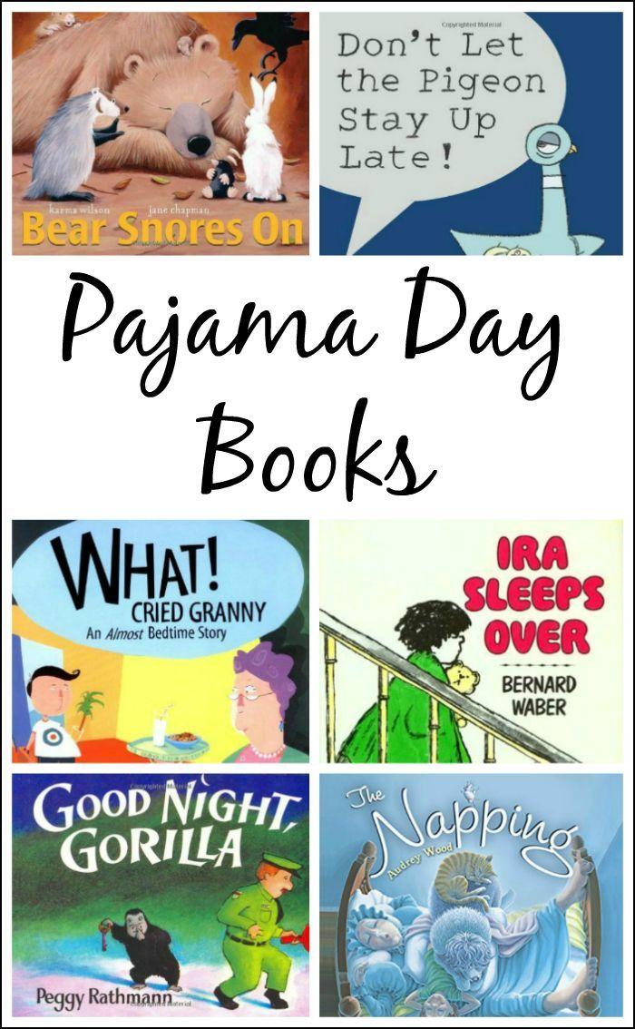 10 Books for a Preschool Pajama Day - fun children's books perfect for a pajama day celebration
