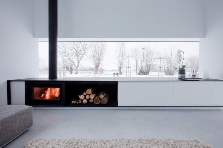 White interior. Looking for a new home? Check out our curated selection of estates on Aestate.be