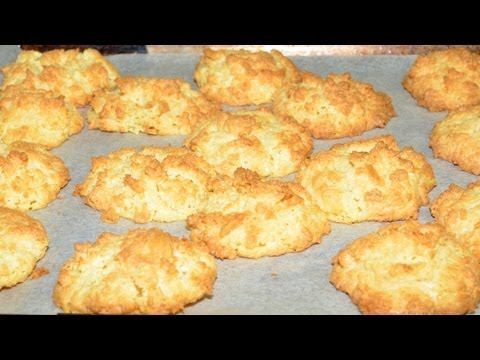 White Chocolate Macaroons, Desserts & Sweets, 4 Ingredients, Cooking with Kim