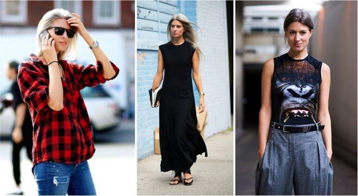 jupe longe-jamais talons  не носить макси-юбки и платья с каблуками, использовать три или четыре цвета вместе или монохром, смешивать роскошные материалы, типа меха, с простыми, типа денима, основной акцент делать на обуви, при достаточно plain одежде.