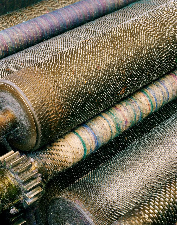 Carder roller detail, Bartlettyarns - Fruits of the Loom - NYTimes.com