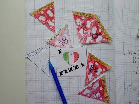 """Il template MATEMATICA... CHE BELLA PIZZA! è in realtà un """"incentiva-compiti"""".      Questo template rientra nella categoria degli strumenti..."""